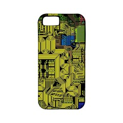 Technology Circuit Board Apple Iphone 5 Classic Hardshell Case (pc+silicone) by BangZart