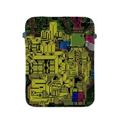 Technology Circuit Board Apple Ipad 2/3/4 Protective Soft Cases by BangZart
