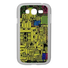 Technology Circuit Board Samsung Galaxy Grand Duos I9082 Case (white) by BangZart