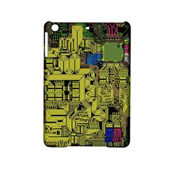 Technology Circuit Board Ipad Mini 2 Hardshell Cases by BangZart