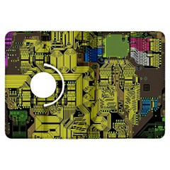 Technology Circuit Board Kindle Fire Hdx Flip 360 Case by BangZart