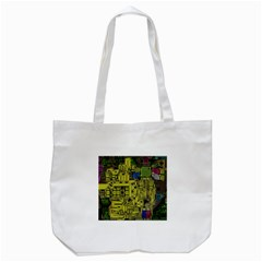 Technology Circuit Board Tote Bag (white) by BangZart