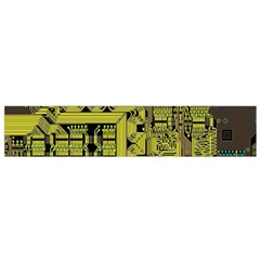 Technology Circuit Board Flano Scarf (small) by BangZart
