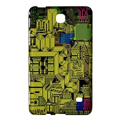 Technology Circuit Board Samsung Galaxy Tab 4 (7 ) Hardshell Case  by BangZart