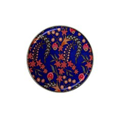 Texture Batik Fabric Hat Clip Ball Marker (4 Pack) by BangZart