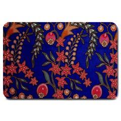 Texture Batik Fabric Large Doormat