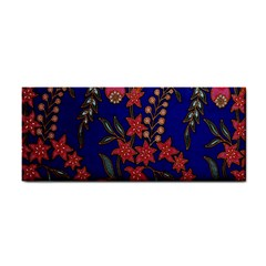 Texture Batik Fabric Cosmetic Storage Cases by BangZart