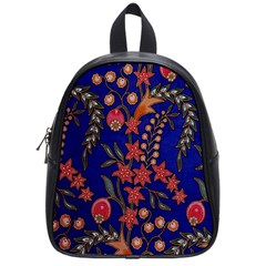 Texture Batik Fabric School Bags (small)  by BangZart