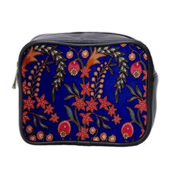 Texture Batik Fabric Mini Toiletries Bag 2 Side by BangZart