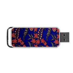 Texture Batik Fabric Portable Usb Flash (one Side) by BangZart