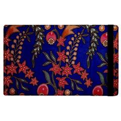 Texture Batik Fabric Apple Ipad 3/4 Flip Case