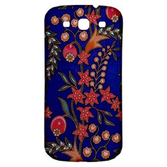 Texture Batik Fabric Samsung Galaxy S3 S Iii Classic Hardshell Back Case by BangZart