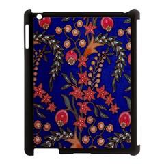 Texture Batik Fabric Apple Ipad 3/4 Case (black) by BangZart