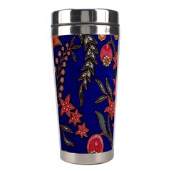 Texture Batik Fabric Stainless Steel Travel Tumblers by BangZart