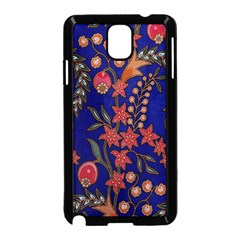 Texture Batik Fabric Samsung Galaxy Note 3 Neo Hardshell Case (black) by BangZart