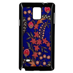 Texture Batik Fabric Samsung Galaxy Note 4 Case (black) by BangZart