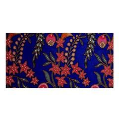 Texture Batik Fabric Satin Shawl by BangZart
