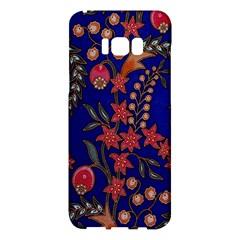 Texture Batik Fabric Samsung Galaxy S8 Plus Hardshell Case