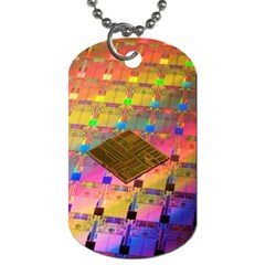 Technology Circuit Pentium Die Dog Tag (two Sides) by BangZart