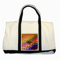 Technology Circuit Pentium Die Two Tone Tote Bag