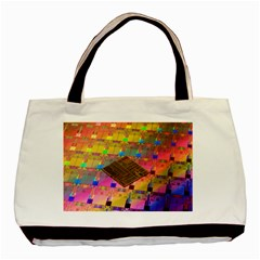 Technology Circuit Pentium Die Basic Tote Bag (two Sides) by BangZart