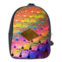 Technology Circuit Pentium Die School Bags(large)