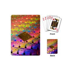 Technology Circuit Pentium Die Playing Cards (mini)  by BangZart