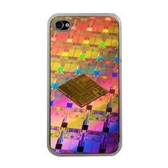 Technology Circuit Pentium Die Apple Iphone 4 Case (clear) by BangZart