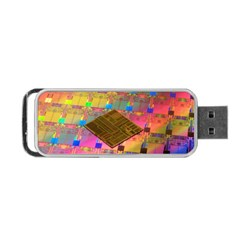 Technology Circuit Pentium Die Portable Usb Flash (one Side) by BangZart