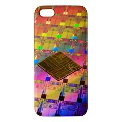 Technology Circuit Pentium Die Apple Iphone 5 Premium Hardshell Case by BangZart
