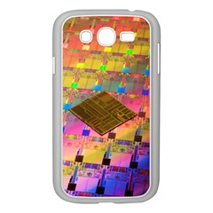 Technology Circuit Pentium Die Samsung Galaxy Grand Duos I9082 Case (white) by BangZart