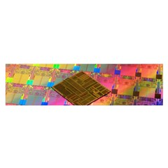 Technology Circuit Pentium Die Satin Scarf (oblong) by BangZart