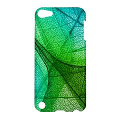 Sunlight Filtering Through Transparent Leaves Green Blue Apple Ipod Touch 5 Hardshell Case by BangZart