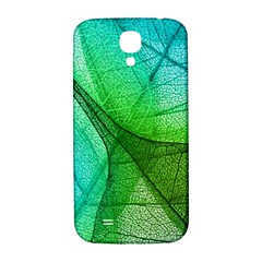 Sunlight Filtering Through Transparent Leaves Green Blue Samsung Galaxy S4 I9500/i9505  Hardshell Back Case by BangZart