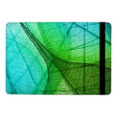 Sunlight Filtering Through Transparent Leaves Green Blue Samsung Galaxy Tab Pro 10 1  Flip Case by BangZart
