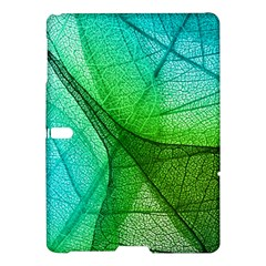 Sunlight Filtering Through Transparent Leaves Green Blue Samsung Galaxy Tab S (10 5 ) Hardshell Case  by BangZart