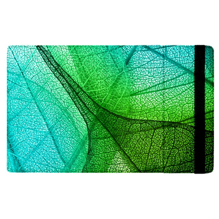 Sunlight Filtering Through Transparent Leaves Green Blue Apple iPad Pro 9.7   Flip Case