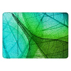 Sunlight Filtering Through Transparent Leaves Green Blue Samsung Galaxy Tab 8 9  P7300 Flip Case by BangZart