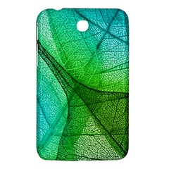 Sunlight Filtering Through Transparent Leaves Green Blue Samsung Galaxy Tab 3 (7 ) P3200 Hardshell Case