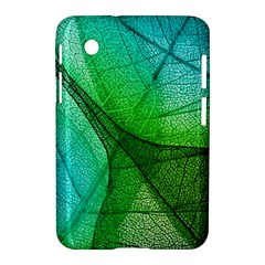 Sunlight Filtering Through Transparent Leaves Green Blue Samsung Galaxy Tab 2 (7 ) P3100 Hardshell Case