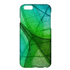 Sunlight Filtering Through Transparent Leaves Green Blue Apple Iphone 6 Plus/6s Plus Hardshell Case