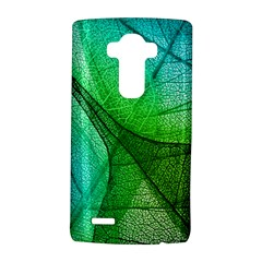 Sunlight Filtering Through Transparent Leaves Green Blue Lg G4 Hardshell Case by BangZart