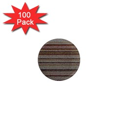 Stripy Knitted Wool Fabric Texture 1  Mini Magnets (100 Pack)