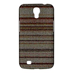 Stripy Knitted Wool Fabric Texture Samsung Galaxy Mega 6 3  I9200 Hardshell Case by BangZart