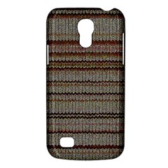 Stripy Knitted Wool Fabric Texture Galaxy S4 Mini by BangZart
