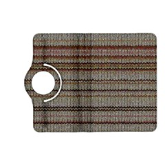 Stripy Knitted Wool Fabric Texture Kindle Fire Hd (2013) Flip 360 Case by BangZart