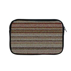 Stripy Knitted Wool Fabric Texture Apple Macbook Pro 13  Zipper Case by BangZart