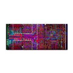 Technology Circuit Board Layout Pattern Cosmetic Storage Cases by BangZart