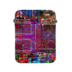 Technology Circuit Board Layout Pattern Apple Ipad 2/3/4 Protective Soft Cases by BangZart