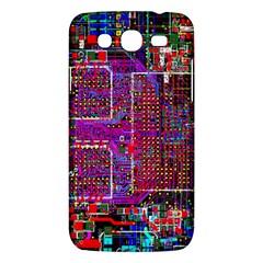 Technology Circuit Board Layout Pattern Samsung Galaxy Mega 5 8 I9152 Hardshell Case  by BangZart
